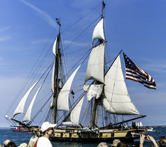 Tall ships 2016 Niagara pic3 (Artemortifica) Tags: boats chicago navypeir tallships band clouds fountains garden lakemichigan sailors sails skyline summer illinois