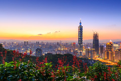 ( Daniel) Tags: ef1635mmf28l canon 6d taiwan taipei                   sunset 101 night dusk pwpartlycloudy            nightphotos sun
