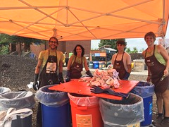 Community Compost Build, CLC and Farm 9.18.16