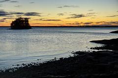 Pyhselk - Finland (Sami Niemelinen (instagram: santtujns)) Tags: joensuu suomi finland pohjois karjala north carelia jrvi lake pyhselk syksy autumm sunset auringonlasku luonto nature maisema landscape ilta evening