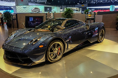 Pagani (Keinsei2) Tags: auto show cars car sport switzerland fuji suisse expo geneva geneve voiture full event fujifilm salon motor autos carbon genve  luxury supercar coches automobili pagani 2015 rassemblement xa1 huayra hypercar  worldcars