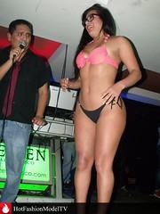 "La sensual modelo peruana Fatima Segovia conocida como ""La Chuecona"" en sexy show en discoteca Zeven (hotfashionmodeltv) Tags: show woman hot cute sexy girl la fiesta models modelo parade desfile bikini butts peruvian peruana discoteca fatimasegovia chuecona"