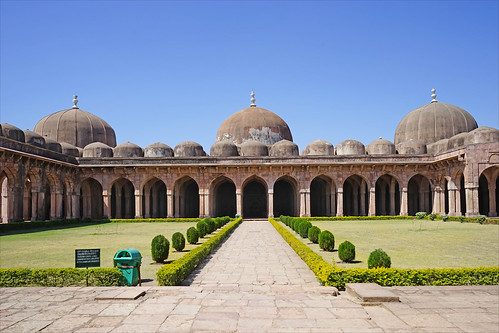 La mosquée Jama Masjid de style afghan (Mandu, Inde)