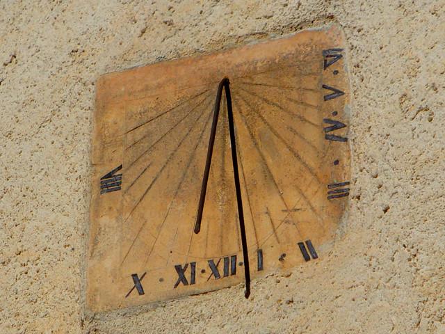 L'horloge (fin du XVIIIe siècle)