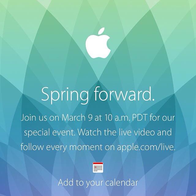 Questa sera segui con noi qui su Facebook e su Twitter @whatashowsrl la diretta del keynote Apple. Scopri con noi il nuovo Apple Watch, il MacBook Air 12 Retina e chissà che non si veda anche liPad Pro e il servizio di streaming musicale. Ti aspettiamo