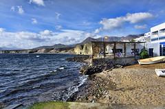 Cabo de Gata.- (ancama_99(toni)) Tags: blue sea beach azul bar mar agua nikon mediterranean mediterraneo playa cabodegata mediterráneo mediterranee 2015 mediterrània 10favs 10faves laisletadelmoro elcabodegata d7000