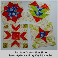 pat sloan vacation time navy block 1 to 4 (quilterpatsloan) Tags: podcast thread sewing moda itunes fabric patchwork applique stitchery tutorial sewist betterhomesandgardens americanpatchworkquilting quiltideas aurifil patsloan quiltsandmore howtoquilt quiltdesigns quiltershome beautifulquilts howtomakeaquilt quilting101 freequiltpatterns allaboutquilting patsloanquiltershome quiltingexpert quiltingauthor quiltingbasics sewaquilt howtosewaquilt everythingyouneedtoknowaboutquilting greatquiltideas creativetalkradio