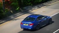 BMW F10 M5 in Hong Kong (Ben Molloy Automotive Photography) Tags: hk motion car photography ben automotive f10 hong kong bmw vehicle panning molloy m5