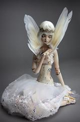 Porcelain BJD Doll , FHDolls . Cosmic Angel (fhdoll) Tags: tattoo angel hearts wings bravo dolls roman ooak forgotten bjd cosmic porcelain aiis gamalier aidamaris fhdolls