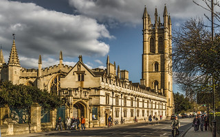 Magdalen College - Oxford, a City of Universities