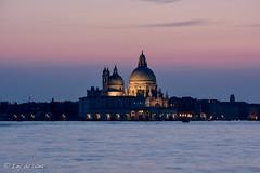 Venice (emydelema) Tags: seaside italia purple it bluehour venecia venezia veneto sealine blueribbonwinner