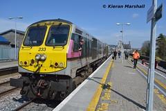 233 at Portlaoise, 23/4/15 (hurricanemk1c) Tags: irish train gm rail railway trains enterprise railways irishrail 201 generalmotors 233 portlaoise 2015 emd iarnród éireann iarnródéireann 1300heustoncork