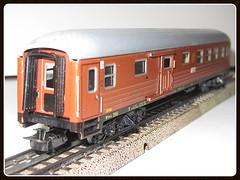 Mrklin 4031 _ SJ (v8dub) Tags: old classic train wagon miniature coach zug swedish sj ho passanger treno trein collector waggon miniatur wagen modellbahn klassik gepck 4031 mrklin