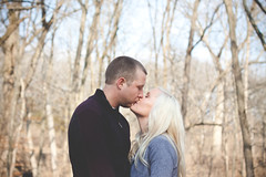 Carrie & Taylor 11 (TheLadyFace) Tags: trees wedding white black laura cute love smile contrast lens happy photography engagement couple bokeh low h flare carrie curve elliot appy tone lre