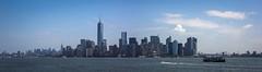 New York Panorama. View from Hudson River (Oleg.A) Tags: cityscape hudsonriver nyc newyork panorama usa unitedstates jerseycity manhattan megalopolis