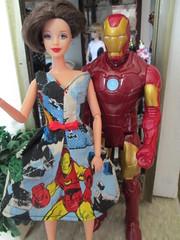 We love Ironman! (Pumpkin Hill Studios/King William Miniatures) Tags: ironman actionfigures hottoys