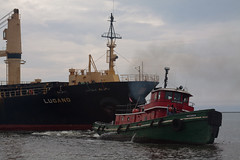 saltie Lugano Milwaukee, WI (wisconsinrails) Tags: wisconsin ship milwaukee tugboat tug lugano saltie portofmilwaukee gtug greatlakestowing massoellimited