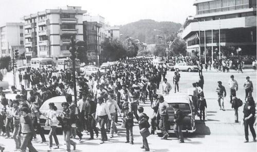 Protestas años 80's
