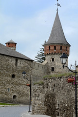 street of the old town (intui.pro) Tags: old roof plant building tower history tourism stone museum architecture landscape town ruins outdoor stones citadel stonework text towers reserve ukraine temples walls bastion stronghold fortress palaces fastness strengthening kamianetspodilskyi