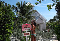 Caution!!!! (crimsontideguy) Tags: beach fun humor laughter panamacityflorida florida home tropical paradise photoshop nikon girl justforfun woman art women beaches autofocus