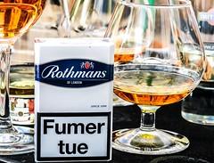 Boire ou Fumer (ylbreizh) Tags: canon cigarette alcool aperitif graphique gx5