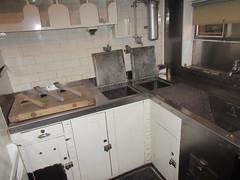 Railway kitchen (jamica1) Tags: park railroad canada calgary heritage kitchen counter railway alberta sinks galley