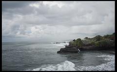 Uluwatu (mcroff88) Tags: ocean travel blue light sea summer sky bali seascape storm green beach water beautiful clouds canon indonesia grey coast rocks waves view panoramic uluwatu