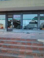 Destrozos Alcalda Duitama (Peridico ELDIARIO Boyac) Tags: paro camionero boyac muerto noticias duitama