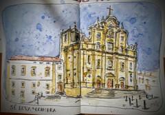 S Nova de Coimbra (JMADesigner) Tags: portugal nova se sketchs coimbra urbansketchers urbansketchs