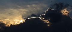 Fantasmagorie (nathaliedunaigre) Tags: blue sunset sky nature strange clouds bleu ciel nuages coucherdesoleil trange