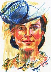 ERRORES (2) (GARGABLE) Tags: portrait sketch retrato drawings colores apuntes errores gargable angelbeltrn