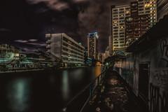 Canals of Bangkok (mcalma68) Tags: cityscape night canals bangkok thailand longexposure urban