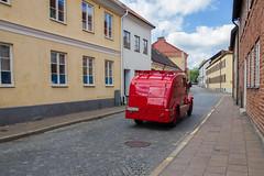 Old fire truck (nillamaria) Tags: ystad skne car brandbil firetruck