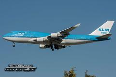 PH-BFM (Hector A Rivera Valentin) Tags: klmasia reg phbfm boeing 747400 al1 msn 26373 losangeles international lax klax