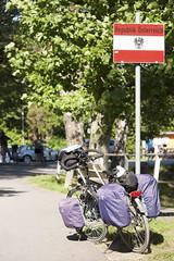 Bikepacking Switzerland (Kitty Terwolbeck) Tags: switzerland zwitserland swiss schweiz bikepacking cycling cycletour trekking fietstrekking fietstrektocht sterreich austria border zoll douane oostenrijk bordercrossing rheinroute veloland velolandschweiz