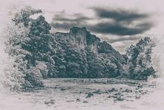 Barnard Castle (Blaydon52C) Tags: barnard castle english heritage durham tees county river historic vintage monochrome black white bw