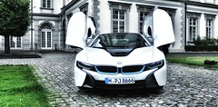 Driving a dream car - a BMW i8 - for a few hours (Christian_from_Berlin) Tags: bmw i8 car luxurycar supercar butterflydoors hybrid germany innovation sportscar electriccar petrolelectricpluginhybrid