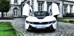 Driving a dream car - a BMW i8 - for a few hours (Christian_from_Berlin) Tags: bmw i8 car luxurycar supercar butterflydoors hybrid germany innovation sportscar electriccar petrolelectricpluginhybrid