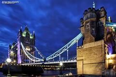 Tower Bridge London (Nigel Blake, 13 MILLION...Yay! Many thanks!) Tags: tower bridge london night thames river nighttime city afterglow sky dusk nigelblakephotography nigelblake long exposure time lights glow headlights lighttrails