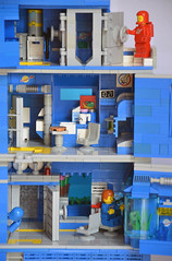 Ice Planet Research Complex 07 (IamKritch) Tags: space classicspace science base neoclassicspace lego