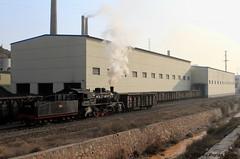 I_B_IMG_8099 (florian_grupp) Tags: asia china steam train railway railroad bayin lanzhou gansu desert landscape loess mountains sy ore mine 282 mikado steamlocomotive locomotive