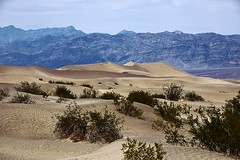 Mesquite Flat Sand Dunes, Death Valley, CA, USA (Maria Kotsonia) Tags: deathvalleynationalpark mesquiteflatsanddunes sand dunes sanddunes california usa nikon d3300 mountains landscape