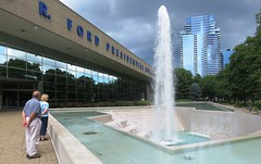 Gerald R. Ford Presidential Library & Museum (Hear and Their) Tags: grand rapids michigan gerald r ford presidential library museum fountain