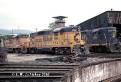 WM 5941 on 5-28-79 (C.W. Lahickey) Tags: wm emd gp9 connellsville