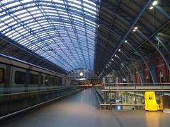 Cathedral of the Railways (stevenbrandist) Tags: travelogue train eastmidlandstrains railway bankholiday travel stpancras london