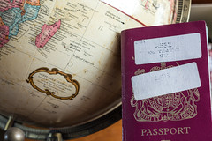 Passport (RagbagPhotography) Tags: 365 366 challenge passport globe travel world scotland home visa