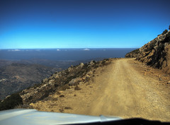 Driving above the clouds (neilalderney123) Tags: 2016neilhoward crete creece landrover 4wd landscape travel road mountain