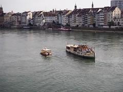 P9030616 (zhiva_ska) Tags: basel rhein switzerland rhy wasser colours water city urban industrial photgraphy