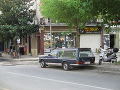 Mercedes-Benz W123 240D Hearse (BP-83) Tags: mercedesbenz w123 hearse classic car oldtimer lijkwagen mercedes benz klassieke auto klassieker pkw bestattungswagen albanie albanien albania shkoder skhodra streets 240d 240 d diesel