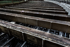 _O7A8950 (AntonyCASAFilms) Tags: urbex ue abandoned derelict cooling tower power station belgium green moss concrete